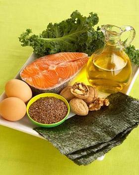 Alimentos com Omega 3